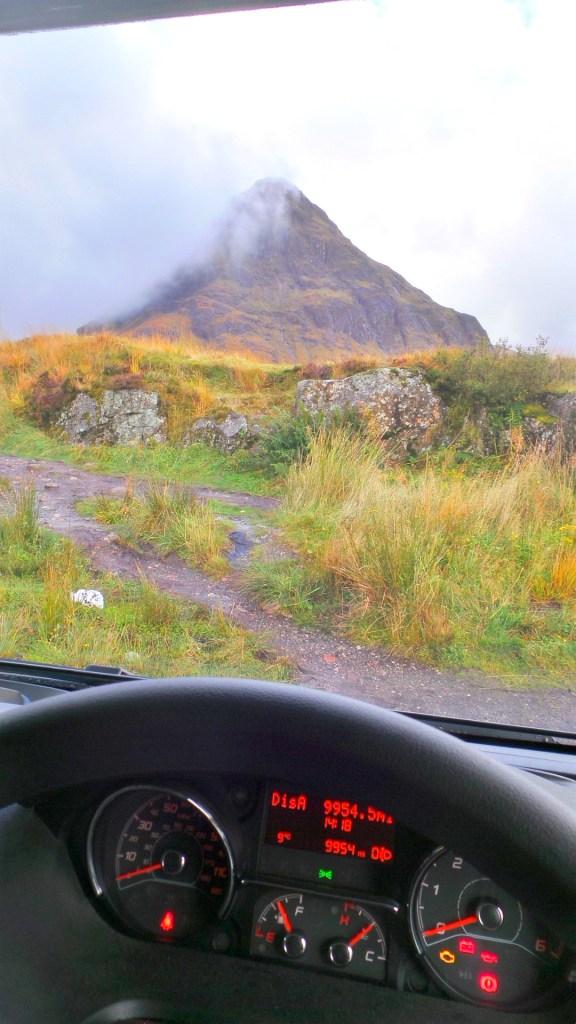 camper, Schotland, rondreis