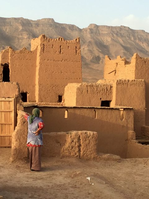 kasbah Tamnougalt, Agdz, Marokko