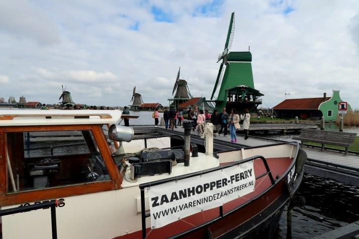Zaanhopper, Zaanse Schans, Laag Holland, Vakantaseren