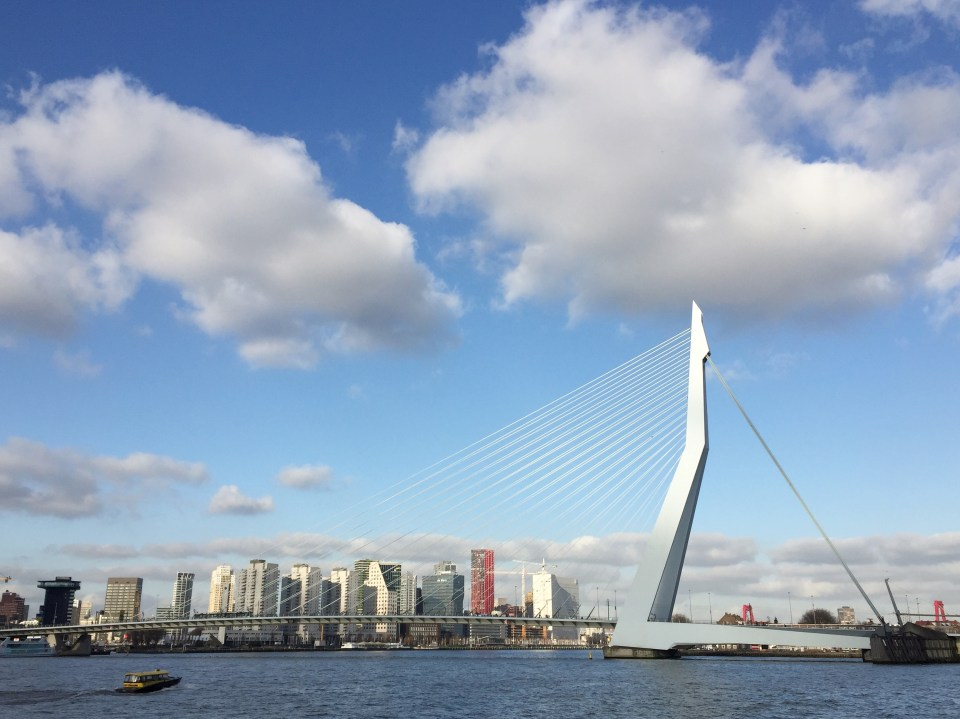 Rotterdam, favoriete steden, NS Wandeling