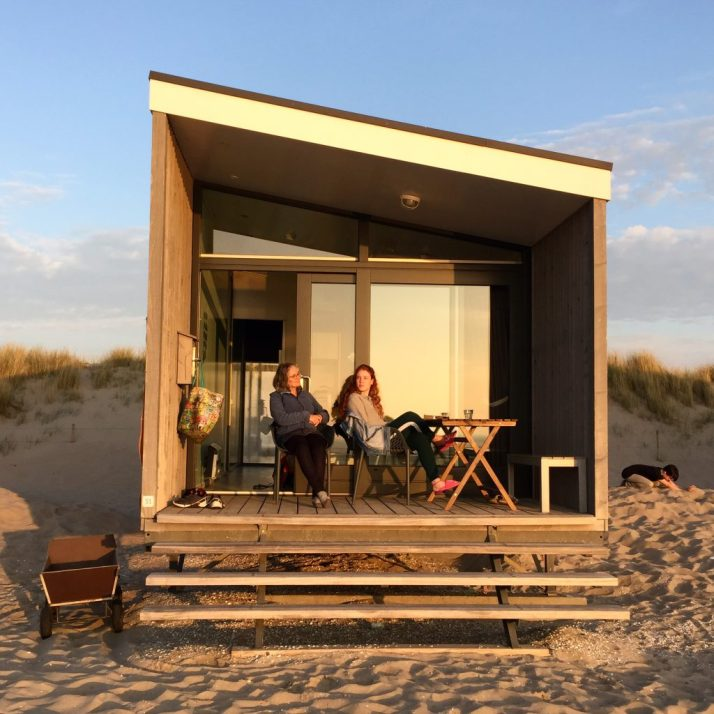 strandhuisje, Kijkduin, wandeling