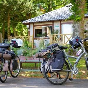 Fietsen bij de Loire; 8 of 15 dagen op campings met overnachtingen in Mobile Homes.