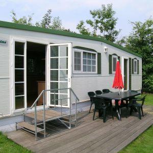 Bürstner-Mobilheim für 4 Personen