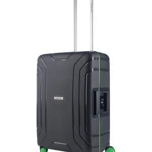 Vliegtuig koffer geschikt voor 16 t/m19 kg dark grey