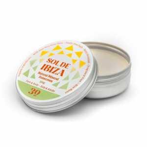 Sol de Ibiza Minerale zonnebrand crème SPF 30 100ml, bio
