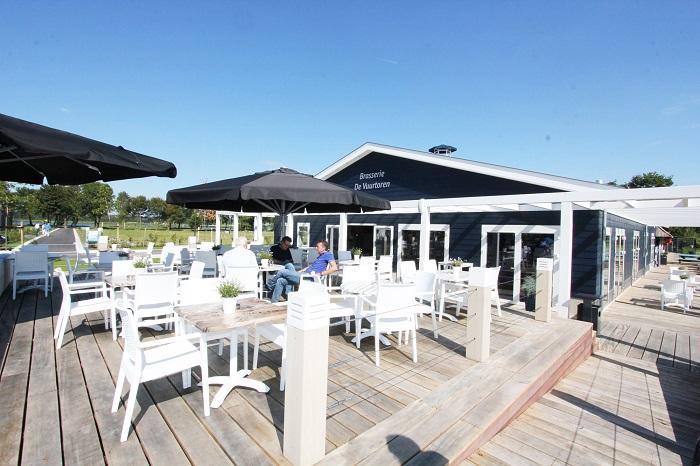 Droompark Bad Hulckesteijn Restaurant met terras