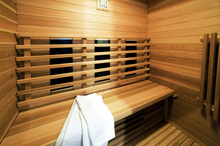 Sauna in vakantiehuis