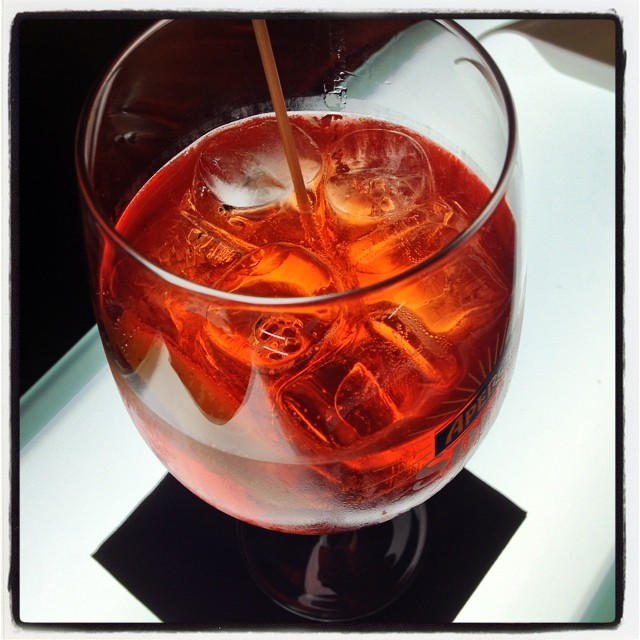 One last Spritz before we go. Or two.