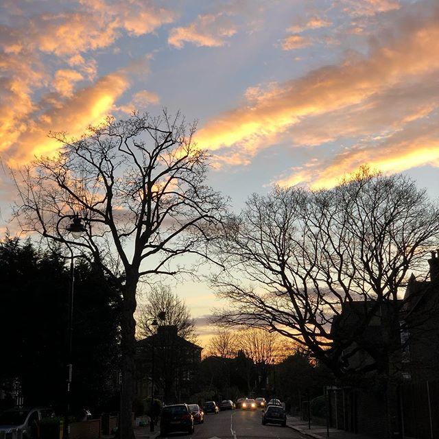 Lovely Ealing evening