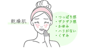 乾燥肌の悩み