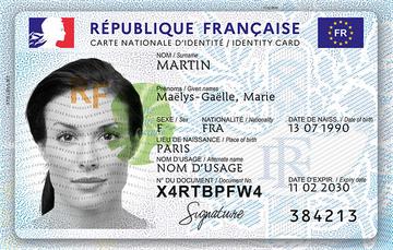 La carte nationale d'identité fait peau neuve !