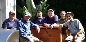 Bob Pfromm, Rick Marriott, Paul Eschmann, Tom Friday, me, Doug McDade