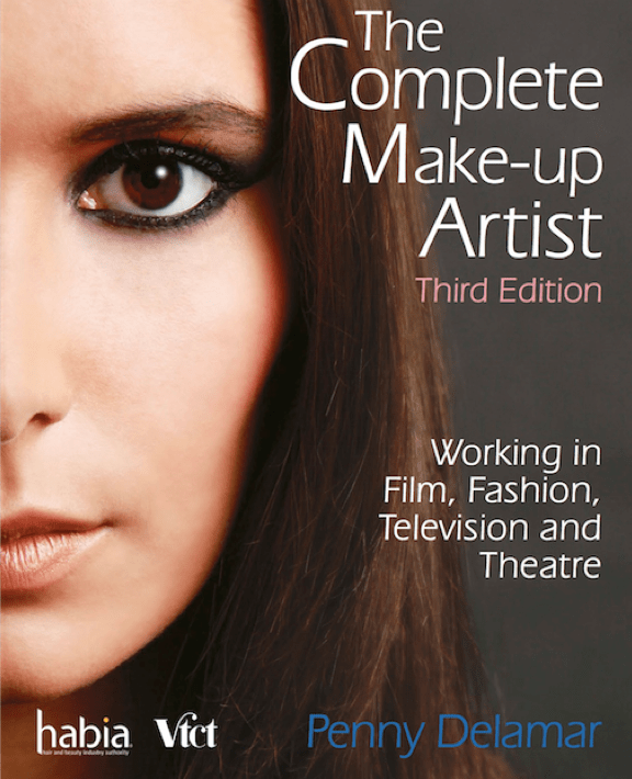 Penny Delamar.The Complete Make-uo Artist textbook, third edition.