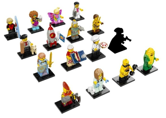 Serie 17 Minifigs