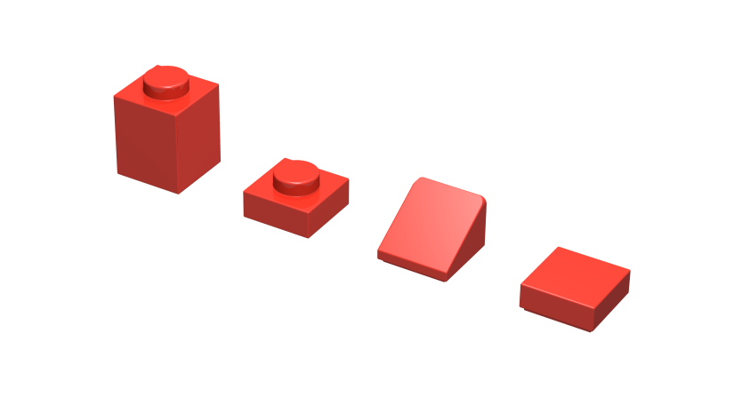 Varias piezas Lego
