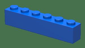 brick 1x6
