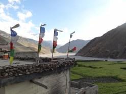 Blick von Kagbeni ins Kali Gandaki - Tal