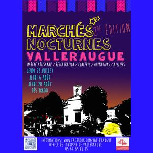 Les marchés nocturnes de Valleraugue 2015