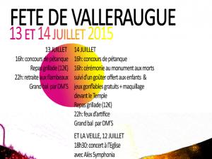 Fête Nationale 13 et 14 juillet 2015