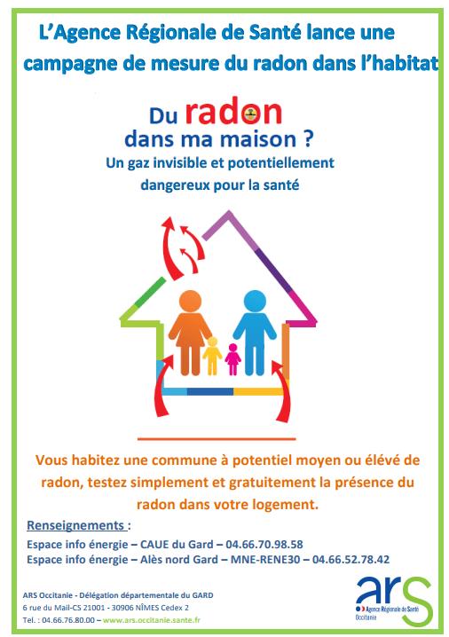 Campagne de prévention RADON