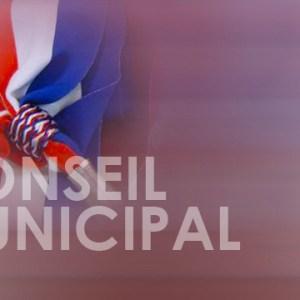Image écharpe tricolore et conseil municipal