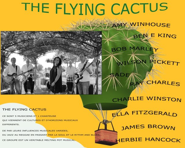flying cactus