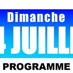 Bandeau d'annonce fête du 14 Juillet