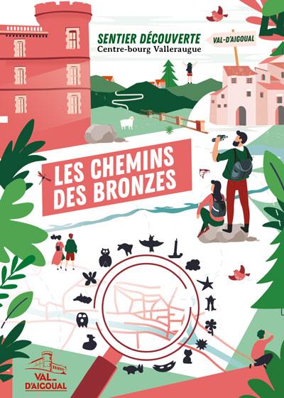 affiche parcours des bronzes valleraugue