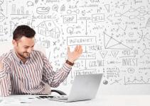 Empreendedor digital de sucesso