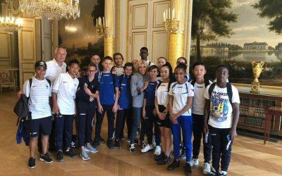 Serris ►18 jeunes du club du Val d'Europe FC accueilleront les bleus