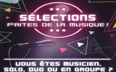 Bussy Saint Georges ► Séléctions  sont ouvertes pour la fête de la musique
