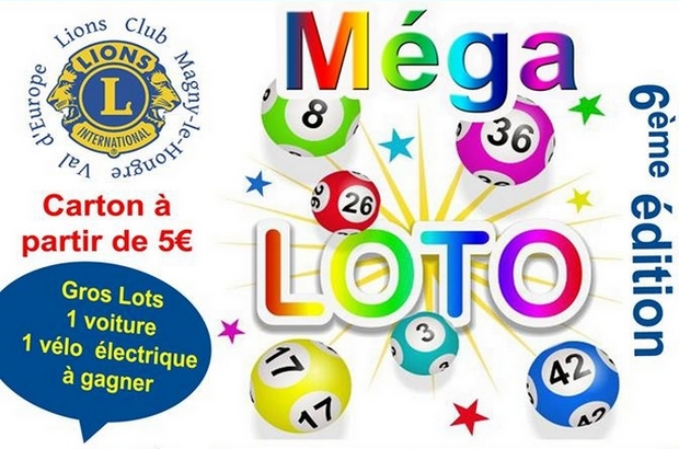 Coupvray ► 6ème édition du Méga Loto Lions Club du Val d'Europe