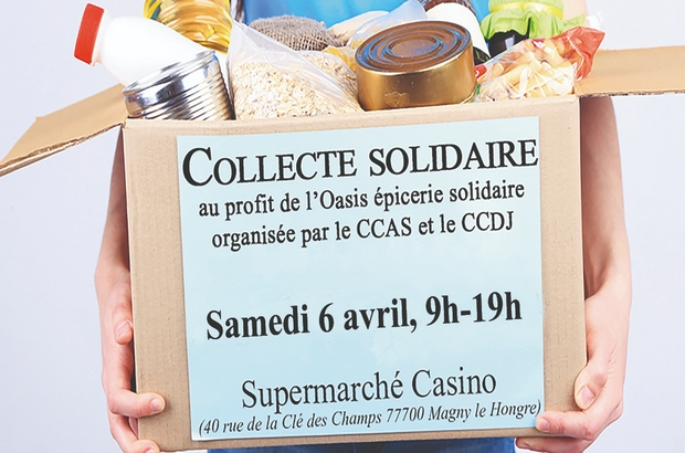 Magny le Hongre ► Collecte alimentaire pour l'épicerie solidaire du Val d'Europe