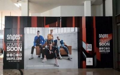Serris ►Ouverture du magasin Snipes Val d'Europe avec le rappeur Ninho