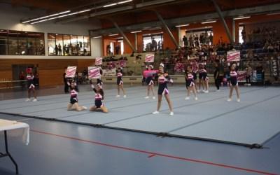 Serris ► Les Dragons en route pour la finale de Cheerleading à Eaubonne