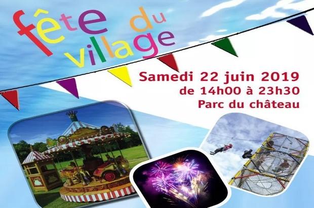 Coupvray ► La fête du village aura lieu samedi 22 juin 2019 au Parc du Château