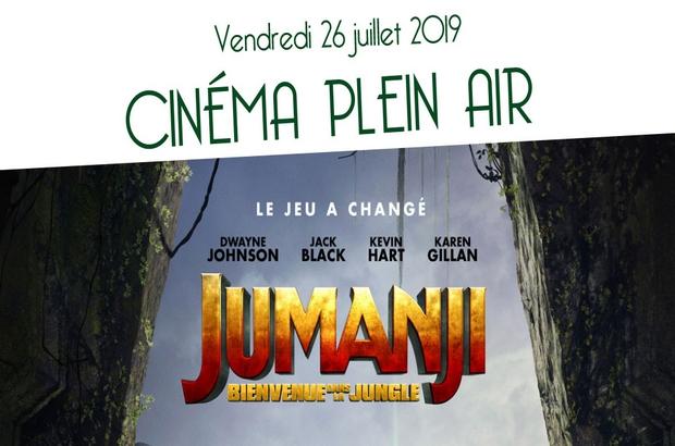 "Magny le Hongre ► Cinéma Plein Air avec le Film ""Jumanji"" vendredi 26 juillet"