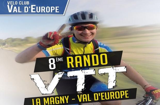 Magny le Hongre ► 8ème édition de la Rondo VTT dimanche 19 mai 2019