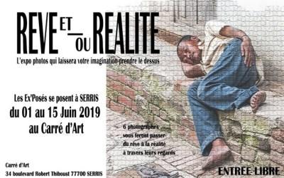 """Serris ► """"Rêve et ou Réalité"""", les Ex'Posés se posent au Val d'Europe du 1 au 15 juin"""
