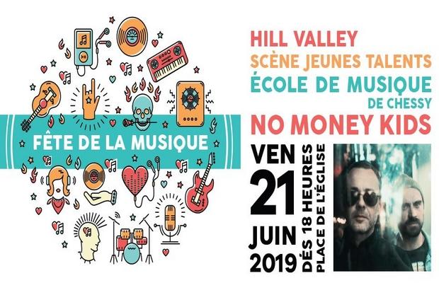 Chessy ► Fête de la musique aura lieu place de l'Eglise vendredi 21 juin 2019