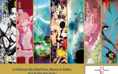 Magny le Hongre ► Expo « Faune urbaine » Radisson Blu Hotel du 4 au 7 juillet 2019