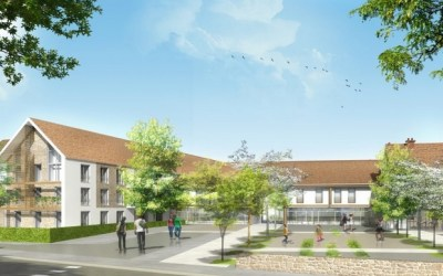 Serris ► La nouvelle résidence Les Cottages d'Amilly accueillera 96 logements dans le bourg