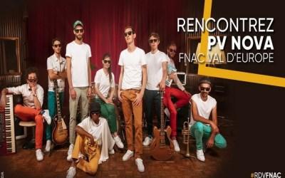 Serris ► Rencontrez PV Nova et l'Internet Orchestra le 15 juin à la Fnac Val d'Europe