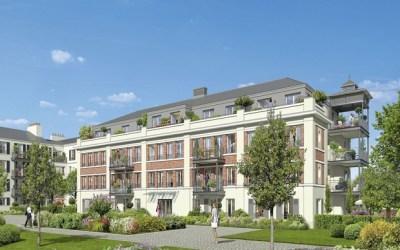 Serris ► Promogim va construire la résidence  «Esprit Faubourg» de 148 logements
