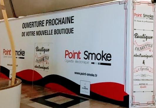 Serris ► Ouverture prochaine d'une nouvelle boutique Point Smoke au Val d'Europe