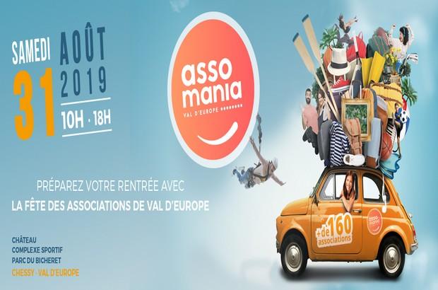 Val d'europe ► Assomania – Fête des associations de Val d'Europe le 31 août 2019