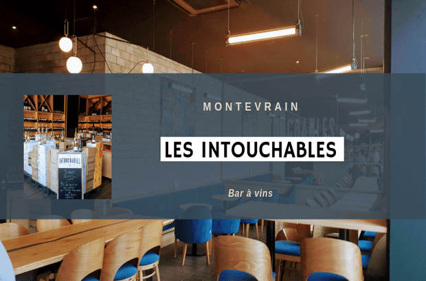 """Montevrain ► Un nouveau Bar à Vins """"Les Intouchables"""" place des Nations"""
