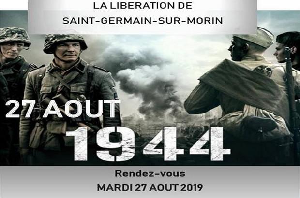 Seine et Marne ► Commémoration de la Libération de Saint-Germain- sur-Morin