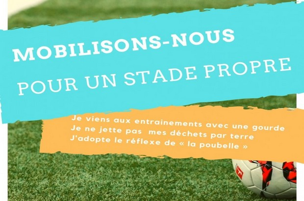 Le Val d'Europe FC lance une campagne de sensibilisation pour la propreté des stades