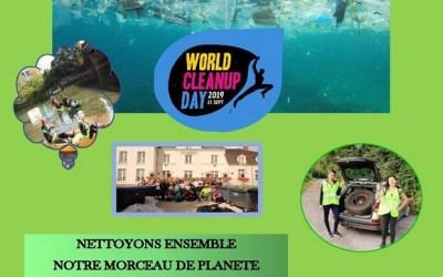 Saint-Germain-sur-Morin ► organise sa 2ème édition World Cleanup Day 2019 !